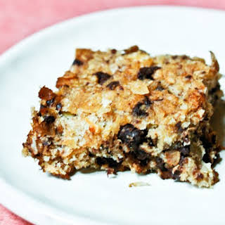 Healthy Banana Chocolate Breakfast Bars.