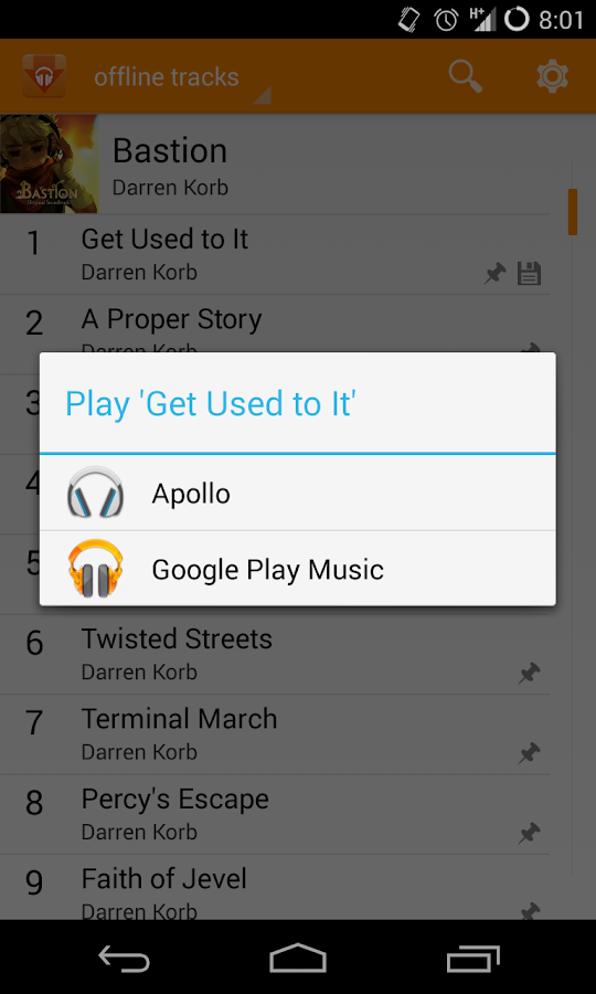 Play Music Exporter - screenshot