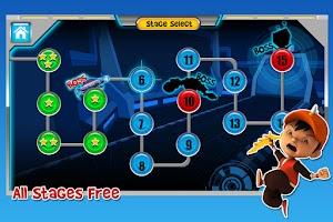 Screenshot of BoBoiBoy: Adudu Attacks! Free
