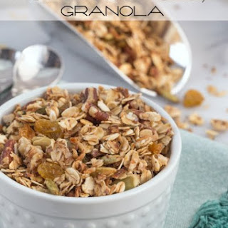 Homemade Honey Granola