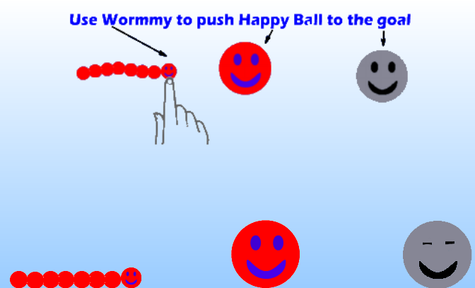 WormBall - screenshot