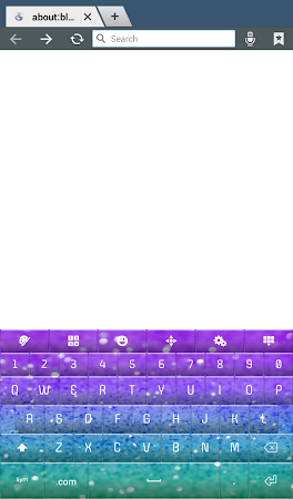 Glitter Keyboard Theme 2.0 screenshot 2012851