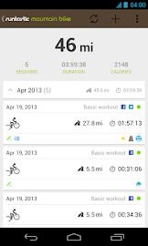 Runtastic Mountain Bike PRO Screenshot 2