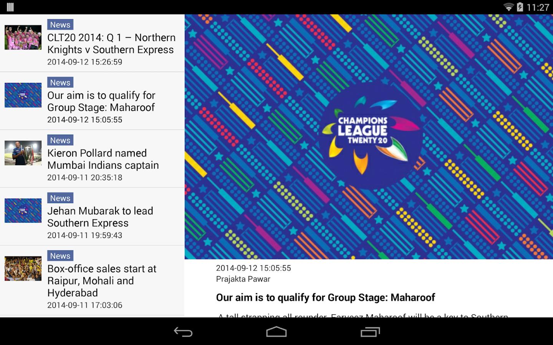 BCCI - screenshot