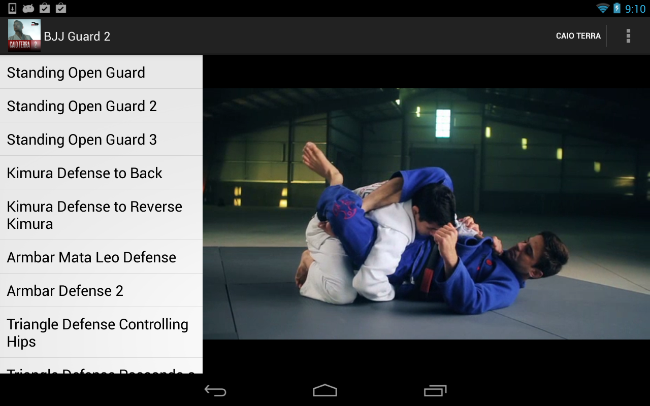 Screenshots of BJJ Closed Guard Defense for iPhone