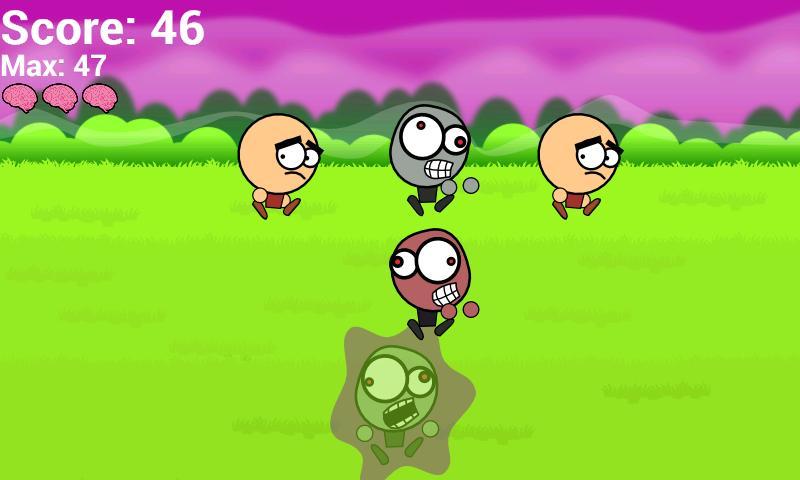 Little Zombie Smasher- screenshot