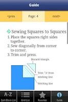 Screenshot of Quick & Easy Quilt Block Tool
