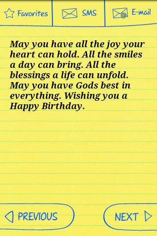 Happy Birthday Text Greetings Android Apps on Google Play