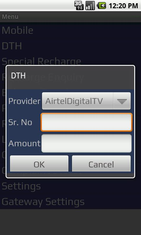 Bonrix MultiSIM MobileRecharge- screenshot