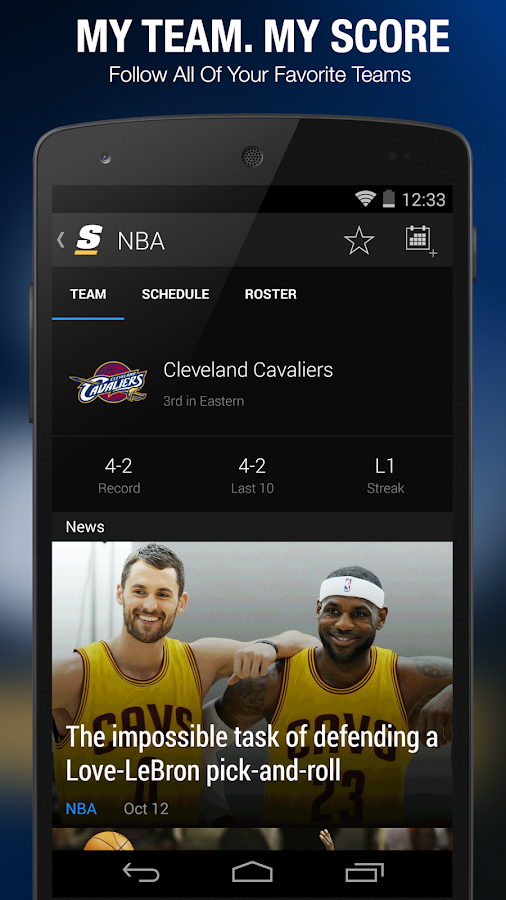 theScore: Sports & Scores - screenshot