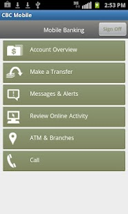 CBC Mobile Banking - screenshot thumbnail