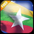 3D Myanmar Flag Live Wallpaper icon