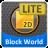 BlockWorld 2D LITE mobile app icon
