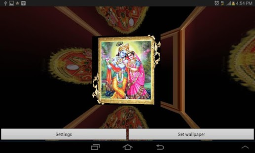 3D Shree Krishna LWP - screenshot thumbnail