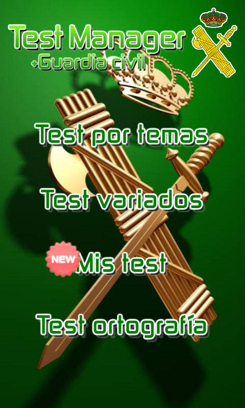 TestManager + Guardia Civil - screenshot