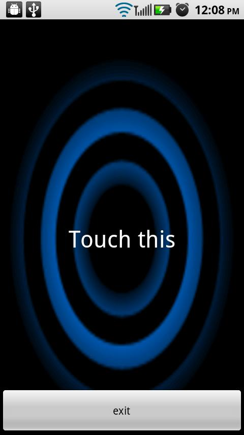 TouchDial - screenshot