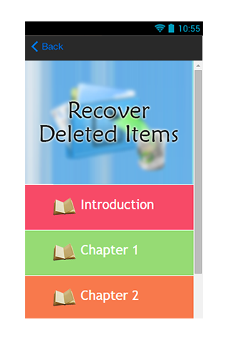 Recover Deleted Items Guide|玩生產應用App免費|玩APPs