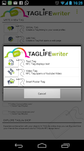 NFC Writer TAGLife- screenshot thumbnail