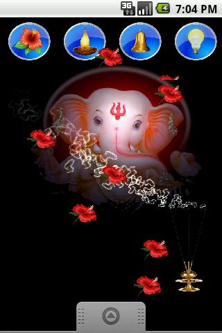 Ganpati Ganesh Live Wallpaper- screenshot