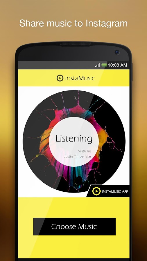 InstaMusic-music picflow to IG - screenshot