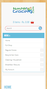 Nashik Online Grocery Shop screenshot 1