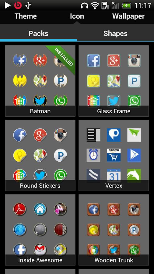 Nine Launcher Pro - screenshot