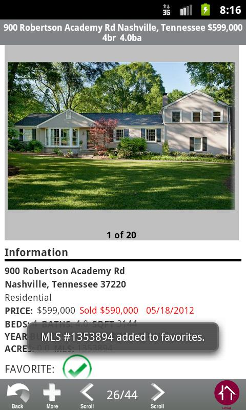Zeitlin Realtors - screenshot