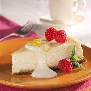 Lemon-Berry Cheesecake.