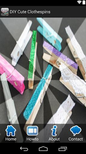 DIY Cute Clothespins