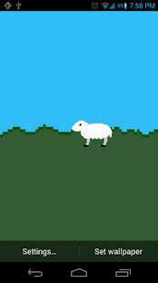 pixel sheep- screenshot thumbnail
