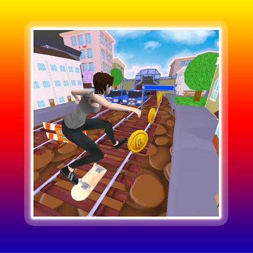3D Subway Train Surfer
