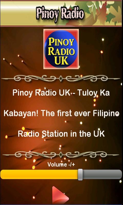 Pinoy Radio UK - screenshot