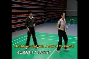 Screenshot of Badminton Skill