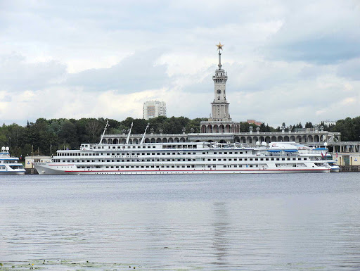 Viking-Ingvar-North-Moscow - The river cruise ship Viking Ingvar at North River Port in Moscow, Russia.