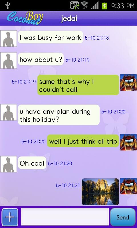 CoconutBoy - Gay chat, date - screenshot