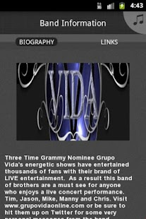 Grupo Vida Three Time Grammy N - screenshot thumbnail