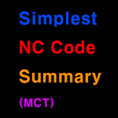 Simplest NC Code Summary(MCT)