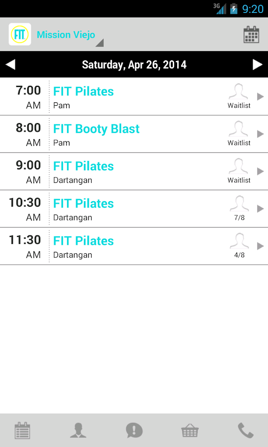 Fit Pilates Studio - screenshot