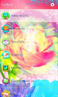 Beautiful Fiesta GO SMS Pro - screenshot thumbnail