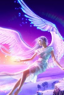 3D angel live wallpaper - screenshot thumbnail