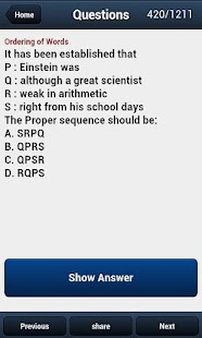 Test Verbal Reasoning Adfree - screenshot thumbnail