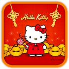 Hello Kitty Chinese new year icon