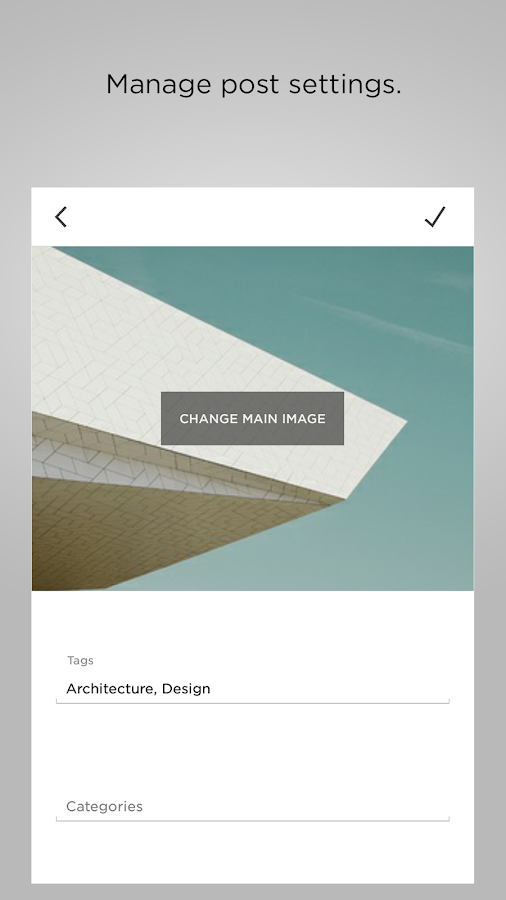 Squarespace Blog- screenshot
