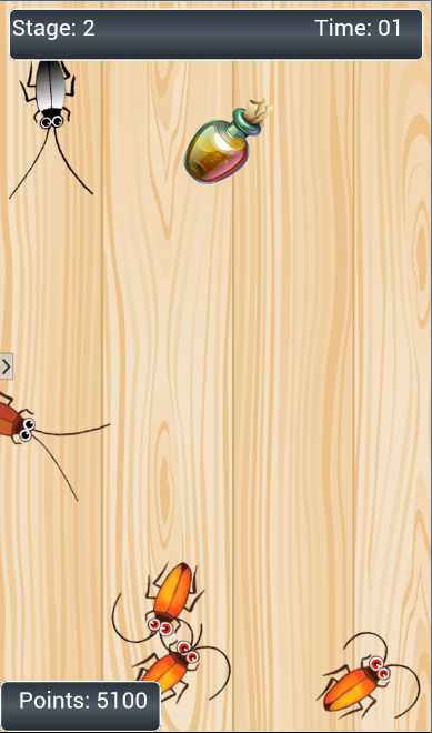 Cockroach Smasher Free- screenshot