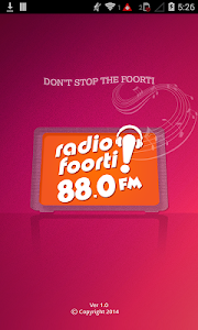Radio Foorti 88.0 FM screenshot 0