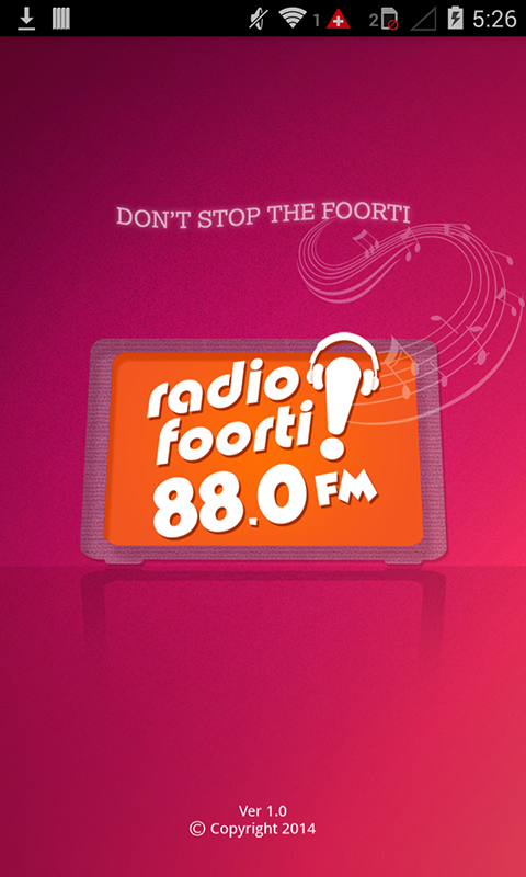 Radio Foorti 88.0 FM- screenshot