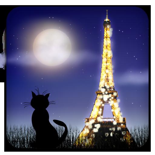 Mon Ami Paris Live Wallpaper 個人化 App LOGO-APP試玩