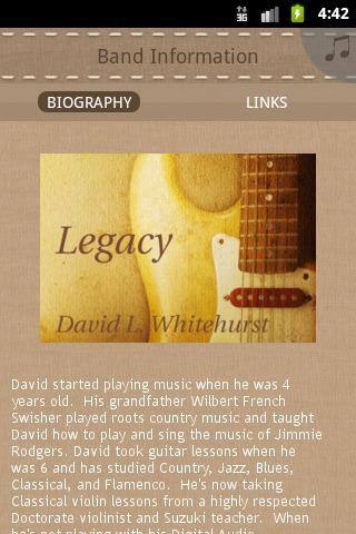 David L. Whitehurst - screenshot