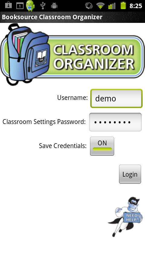 Classroom Organizer- screenshot