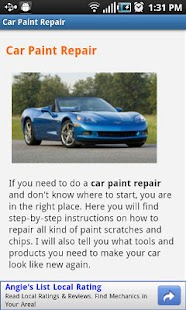 Car Paint Repair- screenshot thumbnail